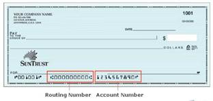 how to find my checking account number